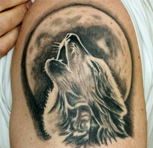 Значение татуировки волк у парней