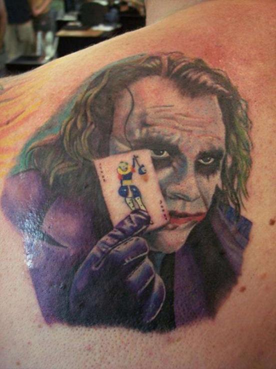 татуировка джокера на руке значение
