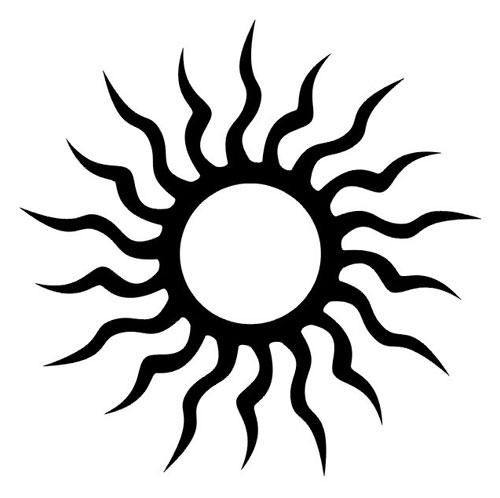 Татуировка солнце