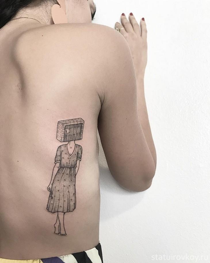 Курнули татуировки проституток в италии получает свой