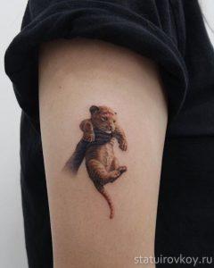 симба татуировка